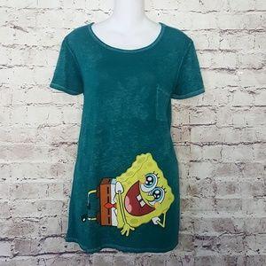 Women Nickelodeon SpongeBob Squarepants Top Sz.XL